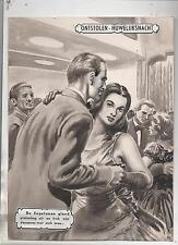 MAGNI. Gouache originale Nuit de Noces volée. Une dernière danse. (74/6)