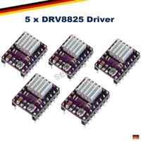5x DRV8825 Stepper Motor Treiber Driver Schrittmotor 3D Drucker Arduino RepRap