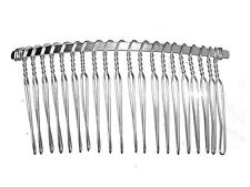 7.5cm Silver Side Hair Comb