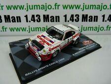 RMIT26F 1/43 IXO Rallye Monte Carlo : PORSCHE 911 SC 1982 B.Waldegard #6