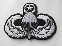US ARMY AIRBORNE MASTER PARATROOPER PARA EMBROIDERED JACKET PATCH 4.1 INCHES