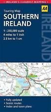 ()-Touring Map Southern Ireland (Aa Road Map) (Map)-AA Publishing-0749565411