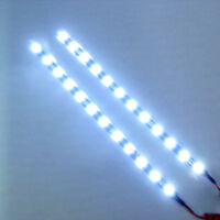 "2x Cool White 12 LEDs 30cm/11.8"" 5050 SMD LED Strip Light Waterproof 12V Car;#"
