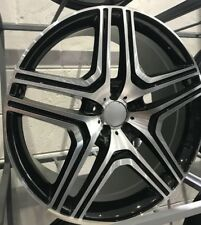 """22""""black pol alloy wheels for new audi q7 mercedes ml gl bentley with tyres"""