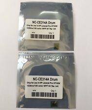 2 x Drum Reset Chip for HP Laserjet Pro CP1025 HP Laserjet Pro CP1025nw  CE314A