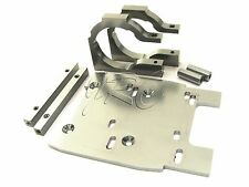 Savage XL FLUX HP MOTOR MOUNTs (Plate 100903 115354 gray HPI 112609