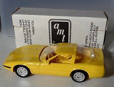 1992 Ertl Amt Chevrolet Yellow Corvette ZR-1 Dealer Promo Car New in Box