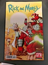 RICK AND MORTY 36 RARE HULK 181 HOMAGE VARIANT NM LIMITED TO 1,000