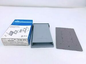 New Leviton 6196-VFS Weather Resistant Outlet Cover