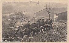 """Feldtoilette Donnerbalken AK 1915 WK I Infanterie """"Minenleger"""" Militaria 1608552"""