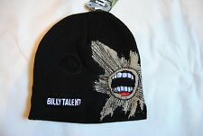 BILLY TALENT EMBROIDERED LOGO TEETH BEANIE SKI HAT NEW OFFICIAL II DEAD SILENCE
