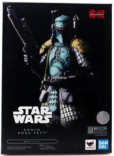 Tamashii Nations Movie Realization Star Wars Ronin Boba Fett Figure Bandai US