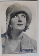 30068 frühe Ross Film AK Nr. 515 GRETA GARBO mit Hut um 1928 Schauspielerin