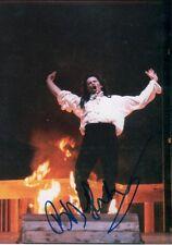 Bo skovhus opera autógrafo signed 13x18 cm imagen