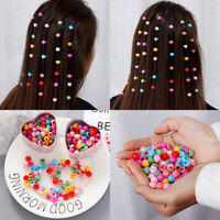 Women Girls Colorful Mini Hair Ornament Clips Headband Hairpins Ponytail Holder