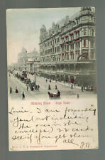 1906 Kimberly South Africa Picture Postcard Cover USA Adderley Street Cape Town