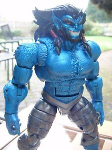 Marvel Legends Beast Blue Metallic Dark Beast X-men CUSTOM