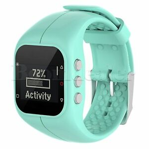 Silicone Watchband Wrist Strap Bracelet Replacement for Polar A300 Sport Tracker