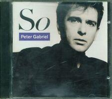 💥Peter Gabriel - So Early Usa Press Cd Ottimo