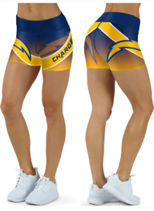 Los Angeles Chargers Small to 2XL Women's Shorts