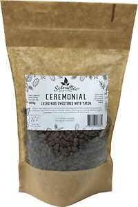 Ceremonia Cacao Nibs Sweetened with Yacon, From Ashaninka Tribe in Peru, 200g