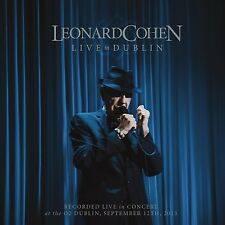 Leonard Cohen-Live à Dublin (3 CD + DVD) Coffret NEUF