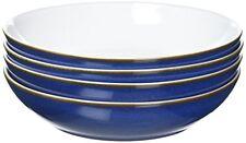 Denby Pasta Bowl Set, Imperial Blue, Set of 4