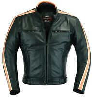 Route66 Motorbike Leather Jacket Motorcycle Racing Protection Jacket