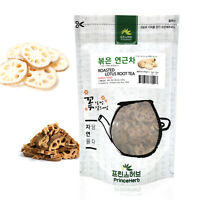 Medicinal Korean Herb, Roasted Lotus Root Tea 볶은 연근차 Dried Bulk Herbs 3oz