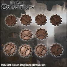 LAST STAND CONVERTIBLES BITS COUNTERS - DOG BONE TOKENS (10)