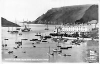 POSTCARD   DEVON    SALCOMBE   A  View  from  the  North    RP