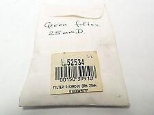 EDMUND OPTICS GREEN DICHROIC FILTER DIAMETER L52534
