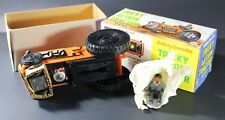 JC&C - Vintage Marx Toys Tricky Action Tractor Battery Operated - Mint in Box