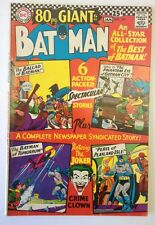 Batman 187 Dc Comics, Dec/Jan 1966-67