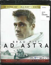 Ad Astra (4K Ultra HD + Blu-ray, 2019, 2-Disc set + Digital copy) NEW!