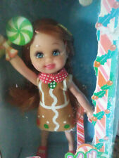 New! Barbie Kelly Club Miranda Doll Gingerbread Man Christmas Holiday Target
