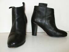 Kenneth Cole Boots Booties Ankle Boots Size 39 Women black leather fringe
