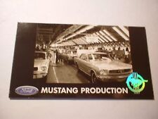 ★★1964 1/2 MUSTANG PRODUCTION LINE OFFICIAL FORD PHOTO MAGNET 64 65 66 COUPE★★