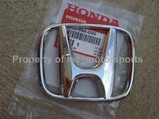 """OEM Honda 2003-2007 Accord 4dr EX LX EXL Sedan Front Chrome """"H"""" Emblem Badge G00"""