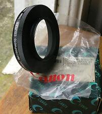 Foto Macro Acoplador de montaje inverso LTM distintivo Canon m39 a 58 mm
