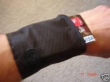 Wrist Wallet 4 Pack holds credit cards, cash, ID, keys. Lightweight