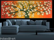 150cm aboriginal inspired Tree Art  Artist Oil Painting Signed COA  commission