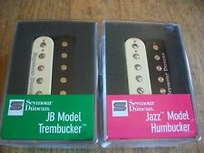 Seymour Duncan TB-4 JB Trembucker SH-2N Jazz Hot Rod Humbucker Pickup Set Zebra