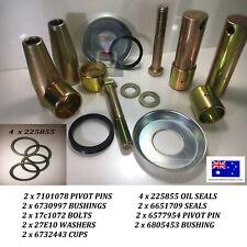 Bobcat Bobtach Pivot Pin & Bush Kit 773 S150 S160 S175 S185 S205 S450 T180 T190