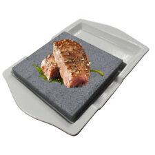 Hot Lava Rock Cooking Steak Stone Rock Grill Stone Baker ceramic board plateBBQ