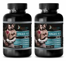 Tongkat Ali Root Extract 200:1 - Pasak Bumi - Aging Men's Sex Health - 2 Bottles