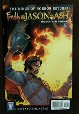New listing Freddy Vs Jason Vs Ash Nightmare Warriors #3 Wildstorm Dynamite Comic