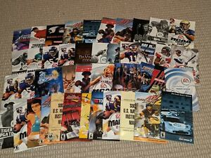 *LOT OF 40* SONY PLAYSTATION 2 PS2 Video Game Manuals/Instruction Booklets/Books
