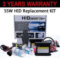 Set Xenon Hid Conversion Kit Replacement Bulb 55W H7 6000K 8K For VW PASSAT B6 #