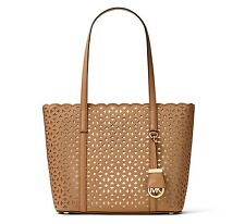 MICHAEL Michael Kors Desi Small Perforated Saffiano Leather Travel Tote $278
